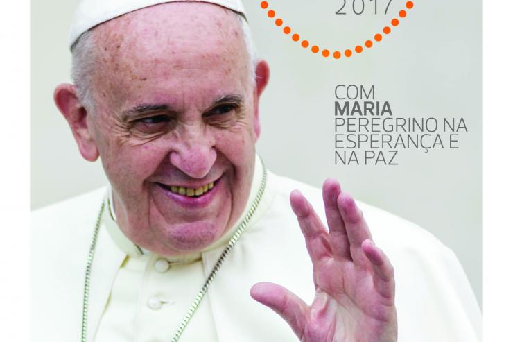 Cartaz Visita Papa Francisco 2017