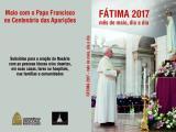 Propostas pastorais para preparar e viver a visita do Papa a Fátima