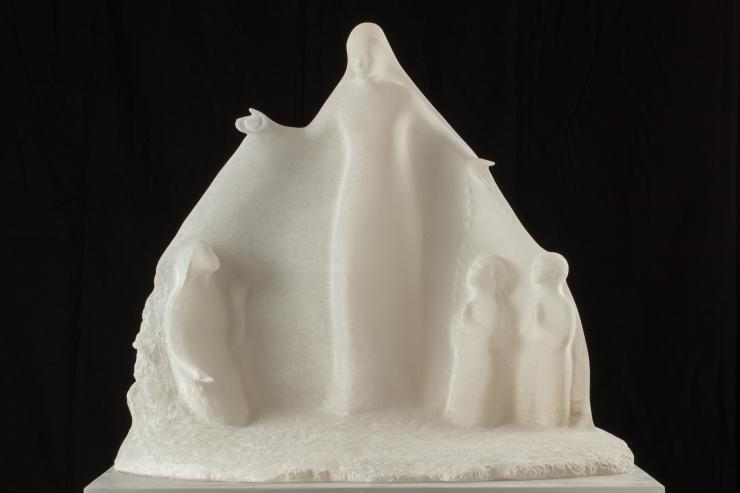 The Shrine of Fatima is going to offer to Pope Francis one piece made of alabaster