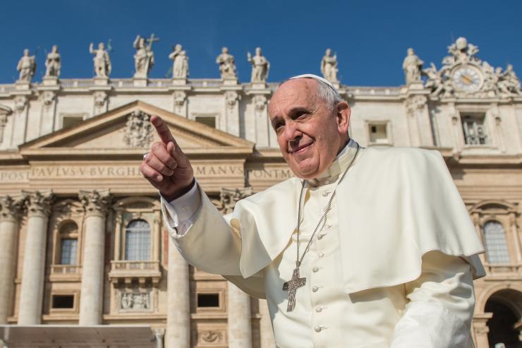 Papa no Twitter: Olhemos para Maria