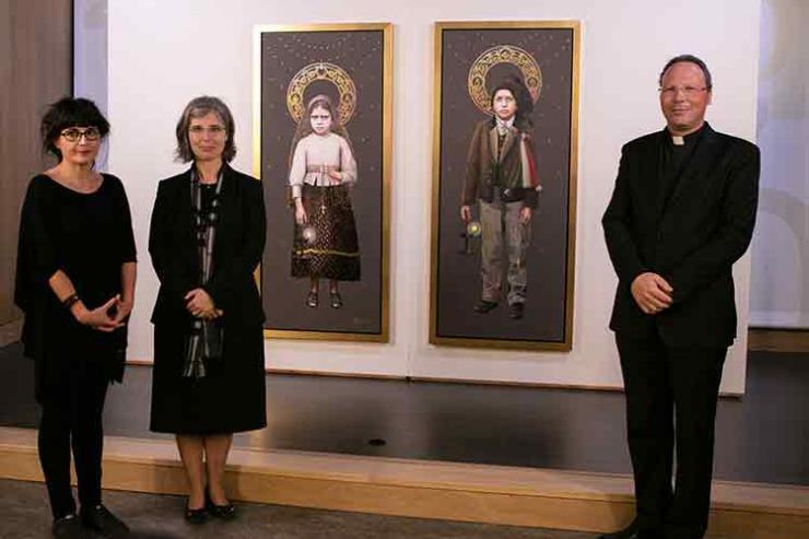 Imagens oficiais dos novos santos vão estar na Basílica até outubro
