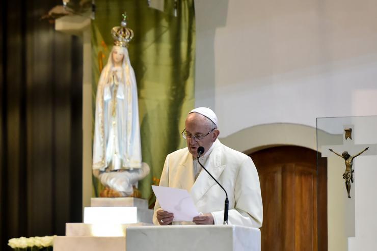 Textos da Peregrinação do Papa