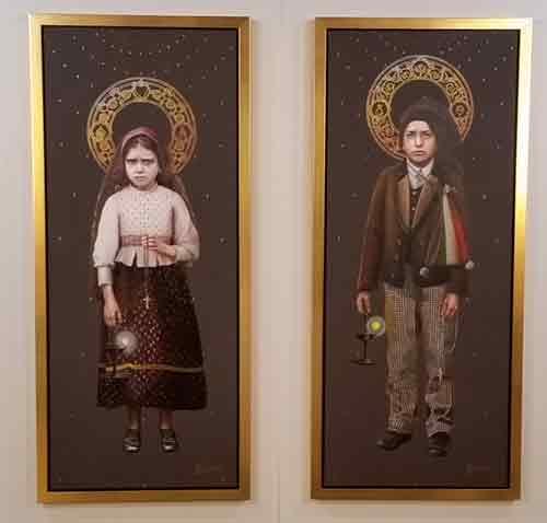 Apresentadas imagens oficiais dos novos santos