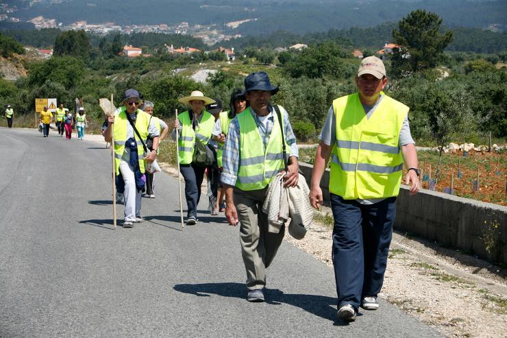 Cerca de 45.000 peregrinos a pé esperados em Fátima