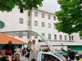 Papa no adeus aos funcionários do Santuário: